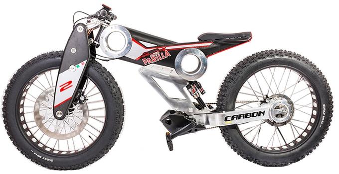 Prawie jak tłusta motorynka - Moto Parilla Carbon